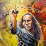 Ronnie James Dio en Peinture