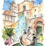Fountaine à  Noto