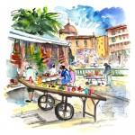 Vendeurs Ambulants à Ortigia 02