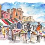 Vendeurs Ambulants à Ortigia 01