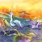 Les Pélicans Des Dombes