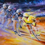 Defying Time In A Yellow Jersey S