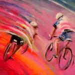 Le Tour de France 15 Acrylics S