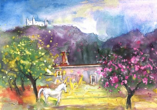 Une Licorne Andalouse