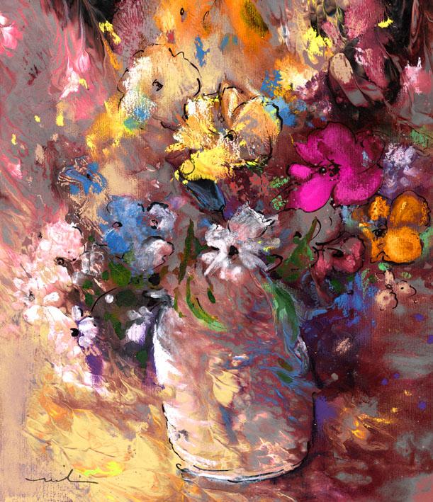 Les fleurs en peinture - 189 tableaux [JPG]